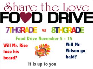 Food Drive Challenge