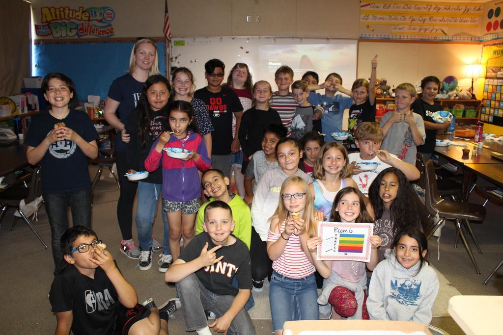 Ms. Kivett's 4th grade class