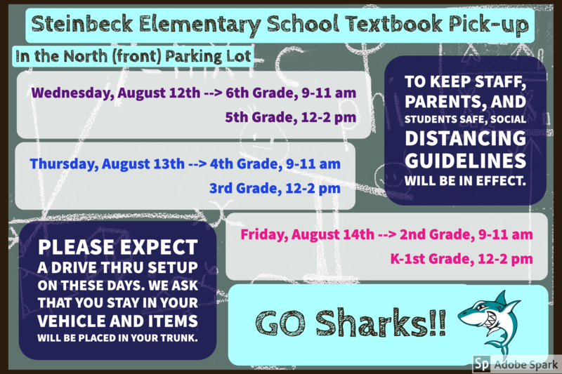Textbook Distribution Dates & Times