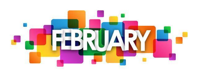 February Calender Header