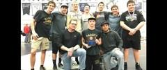 Photo of wrestling team