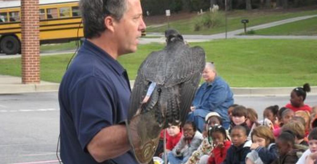 GSU Outdoor Wildlife Program visits TES