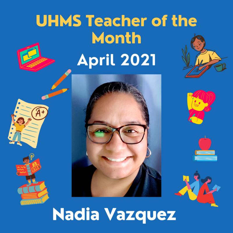 Ms. Nadia Vazquez