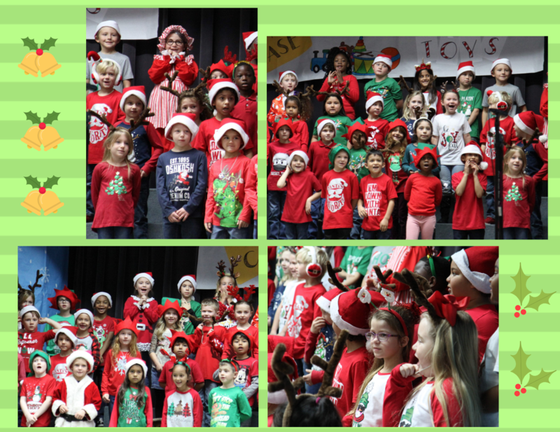 1st grade Christmas Play Featured Photo