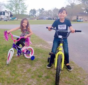 biking for fitness and fune