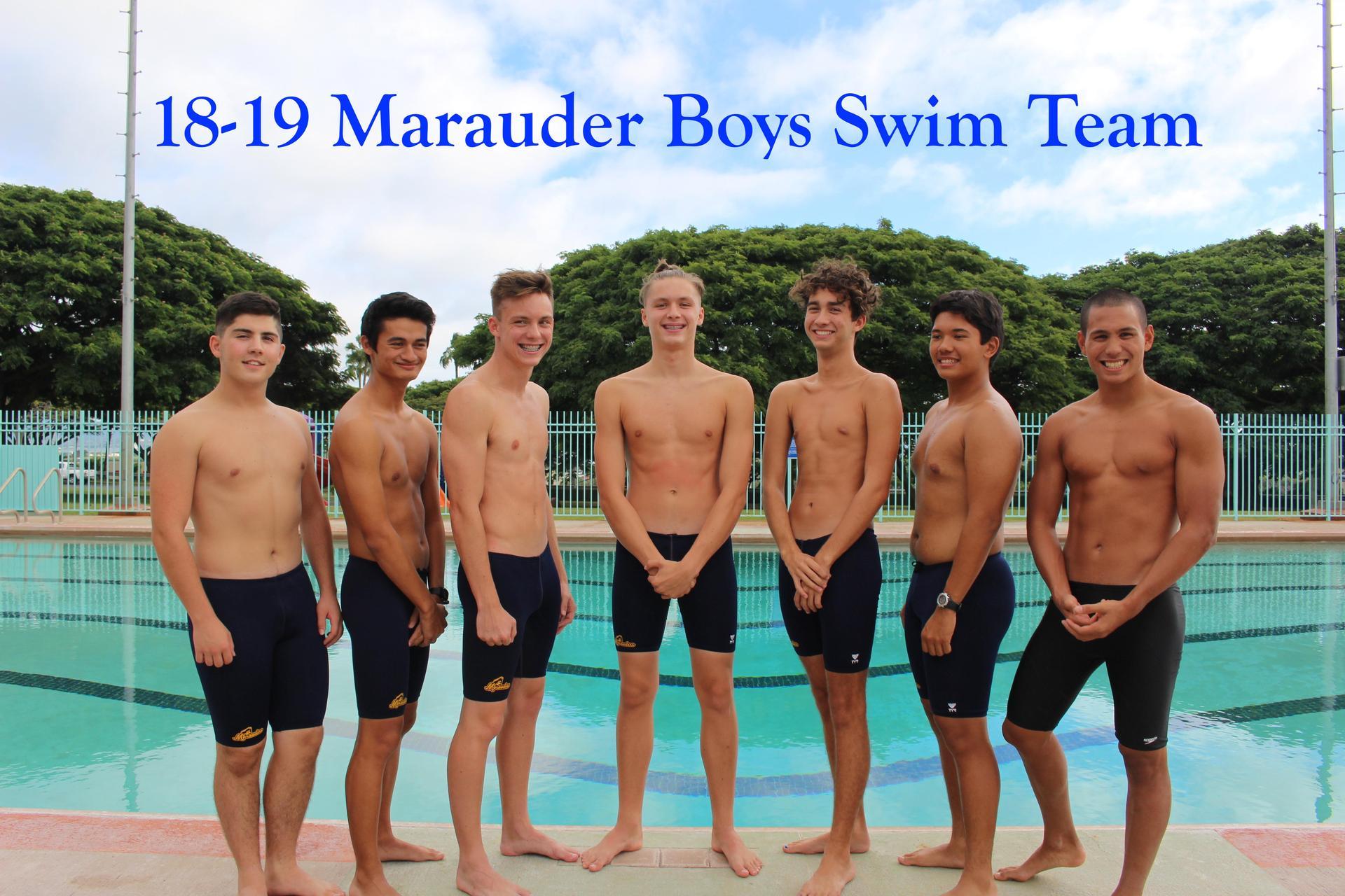 Swim Boys Varsity