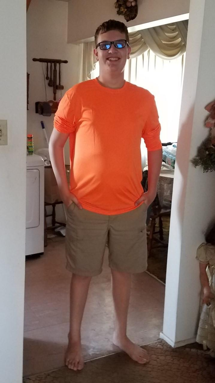 people wearing orange for leukemia