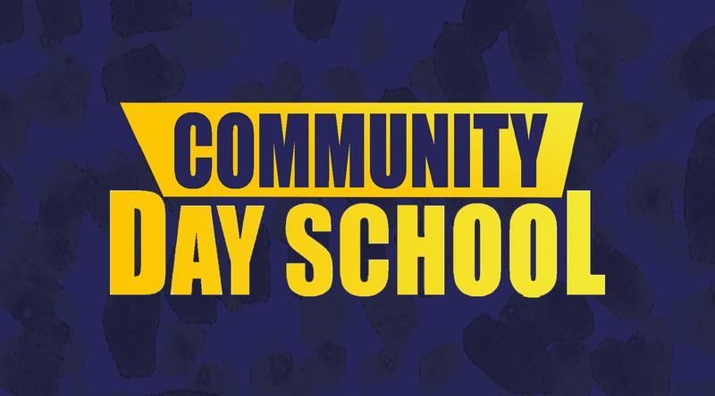 community day school logo