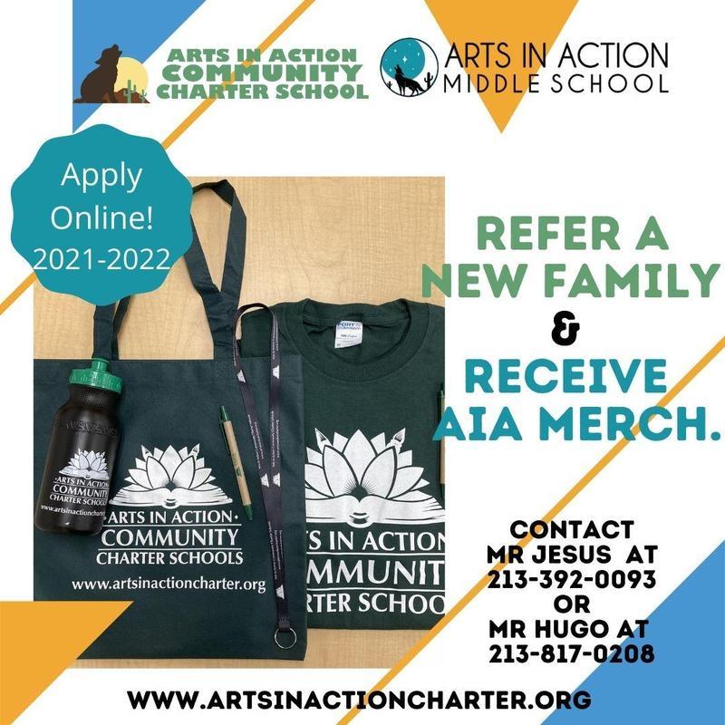 Refer a family to AIA/ Refiera a una familia a AIA Thumbnail Image