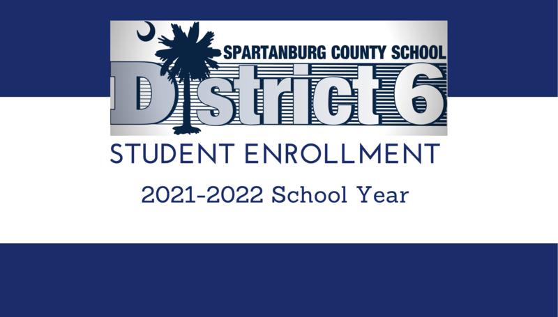 Student enrollment 2021-2022 school year sign