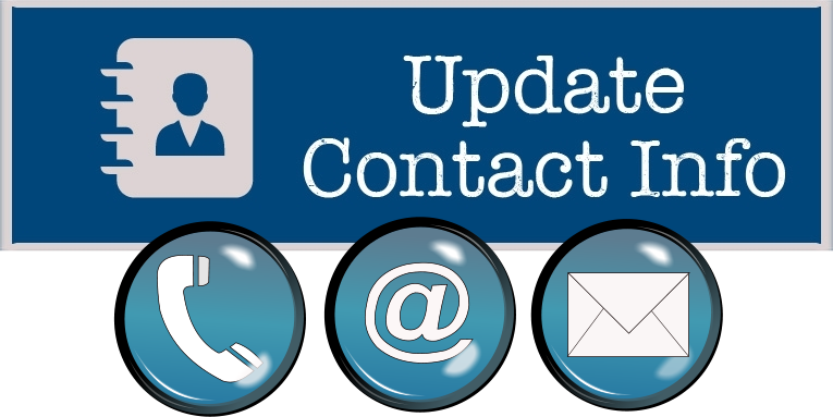 update contact info banner