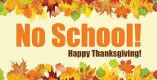 NO SCHOOL 11/21-11/23 Featured Photo