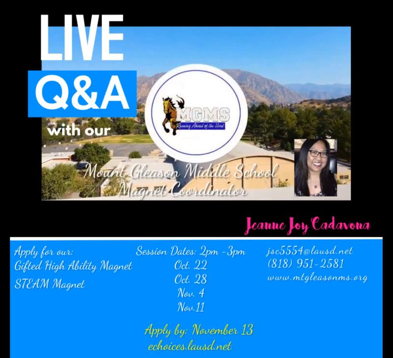 Magnet Live Q&A