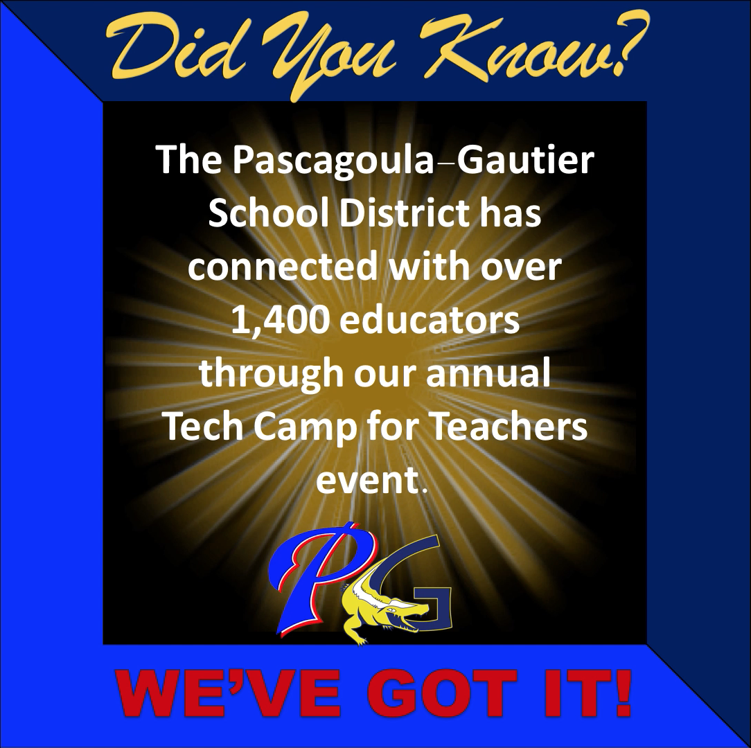 Did you know PGSD has connected with over 1400 educators through our annual Tech Camp for Teachers event