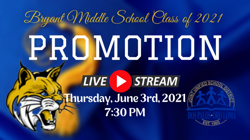 Bryant Middle School Promotion Featured Photo