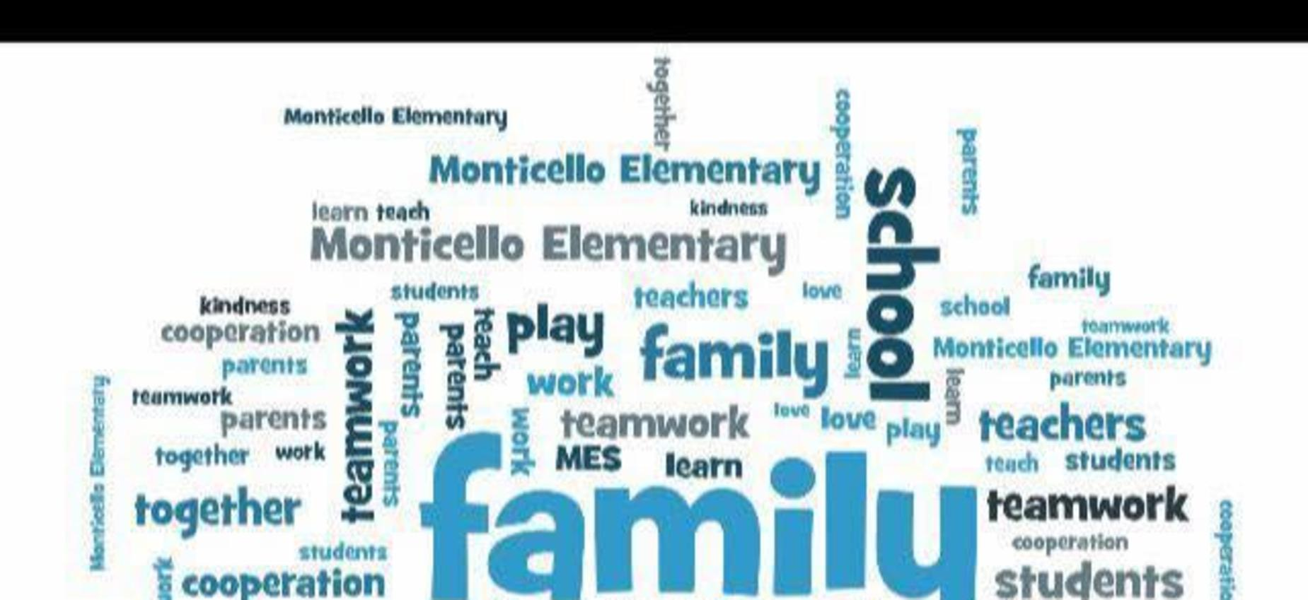 Monticello Elementary Word Doodle