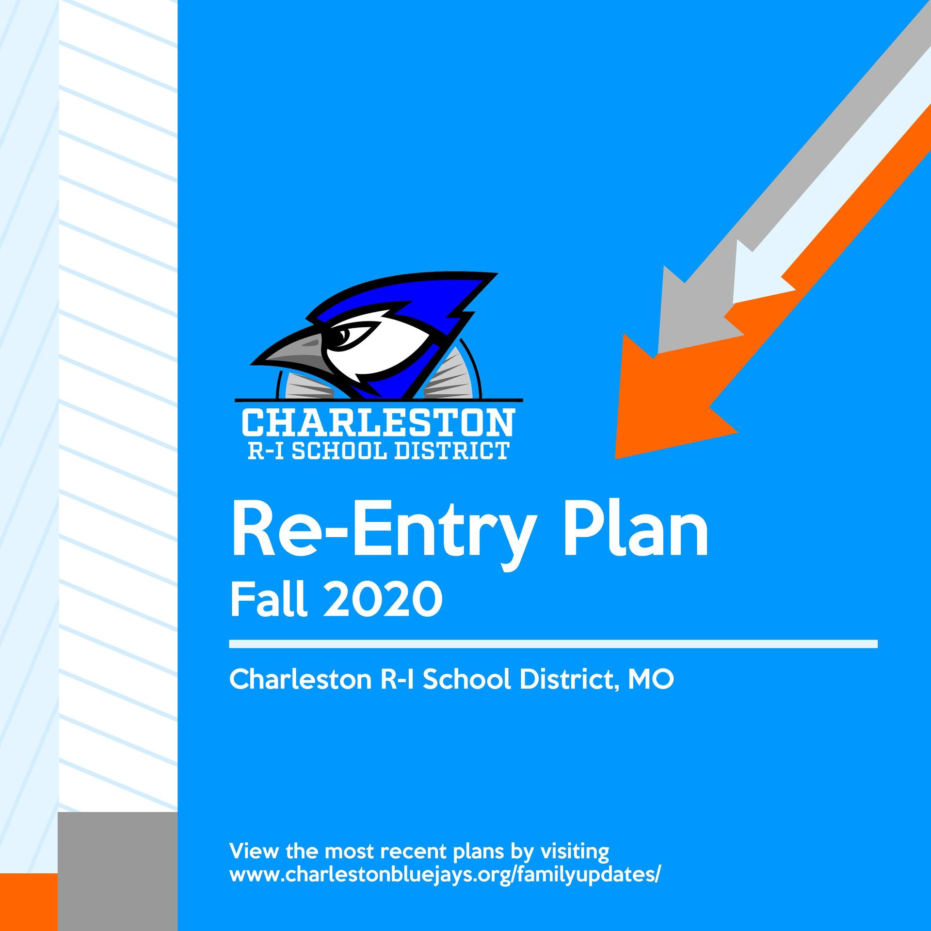 Re-Entry Plan graphic