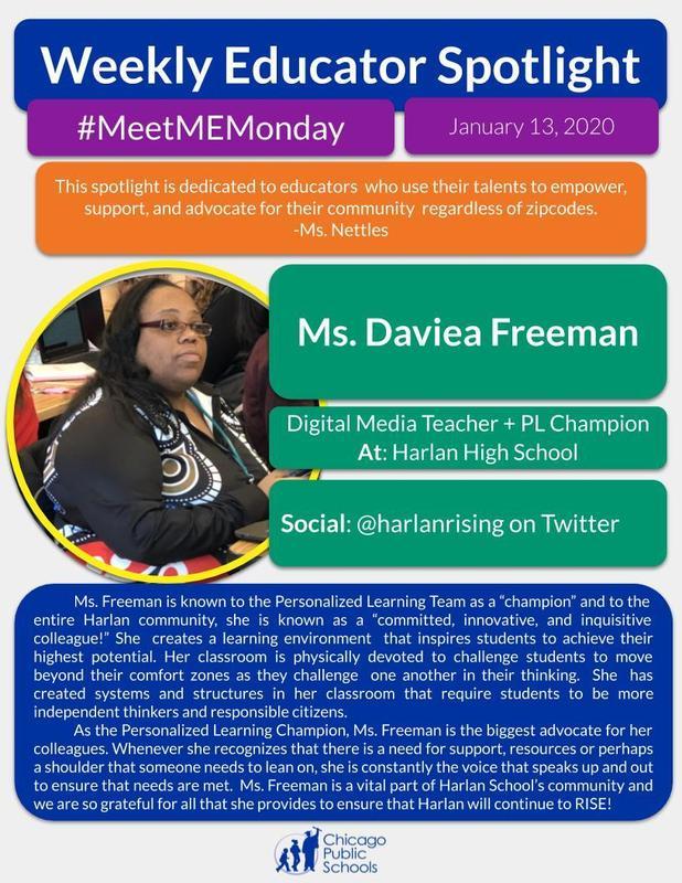 Weekly Educator Spotlight