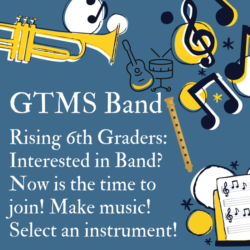 GTMS Band Choose an Instrument