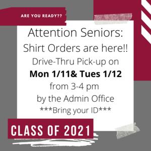 Senior Shirt Flyer