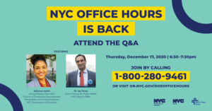 Office Hours additional information