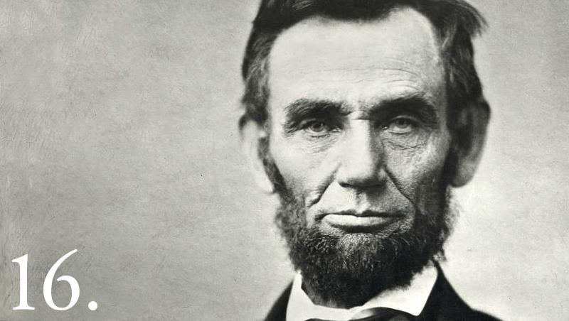 photo of Abraham Lincoln the 16th president of the United States