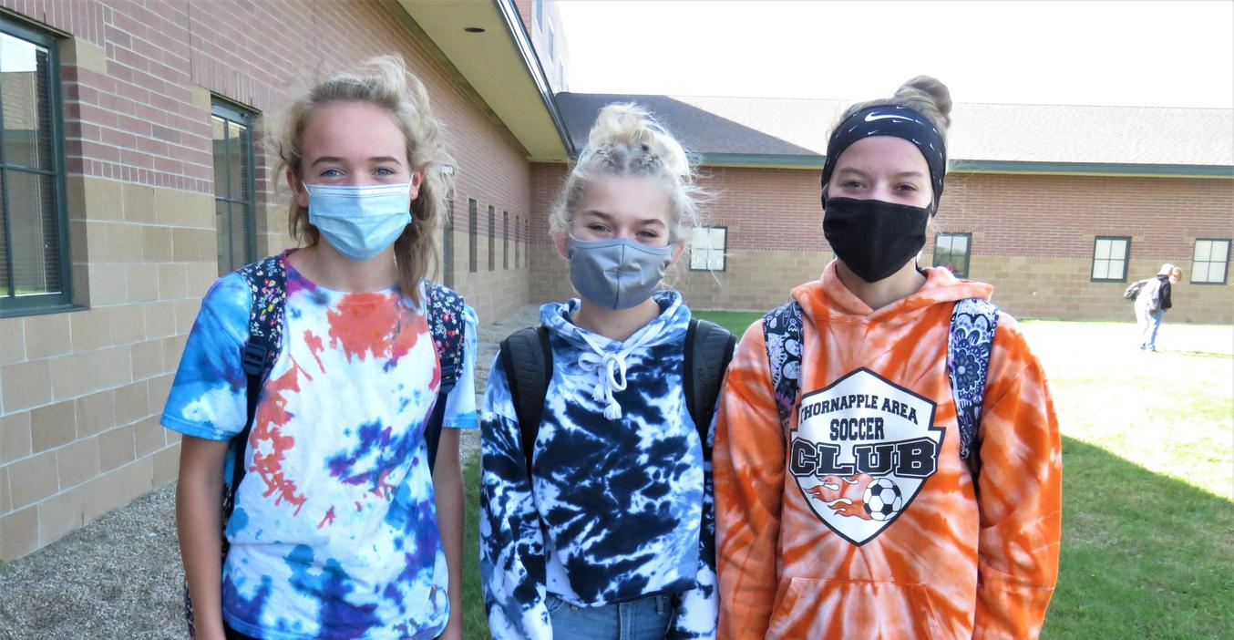 TKMS students enjoy tie dye day.