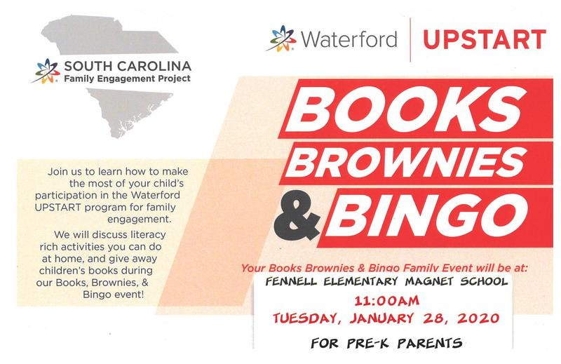 Books, Brownies and Bingo