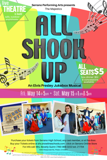 Serrano Performing Arts presents: All Shook Up Featured Photo