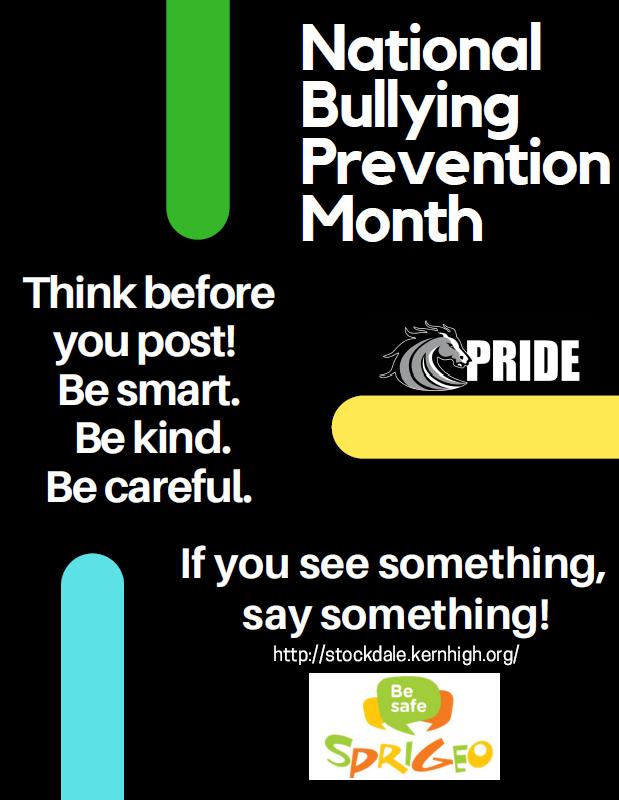 Bullying Prevention Flyer