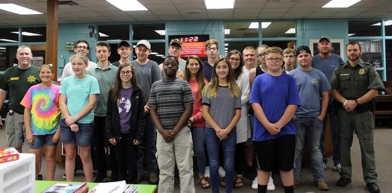 18 RCS students complete boater safety course through Sheriff's office Thumbnail Image
