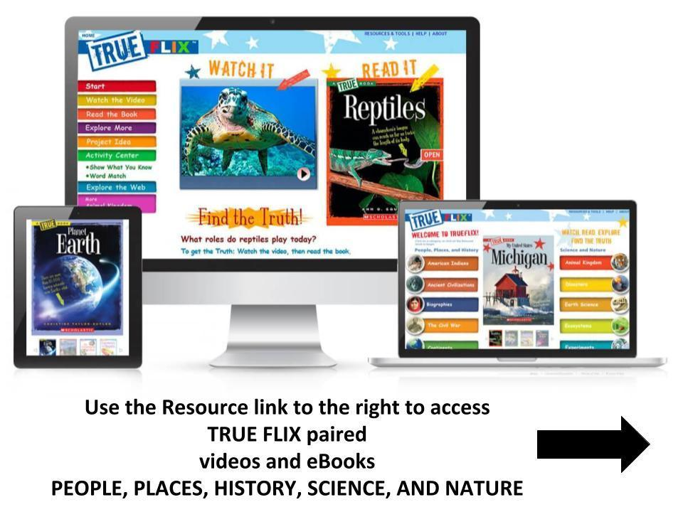Science and Social Studies ebooks from True Flix