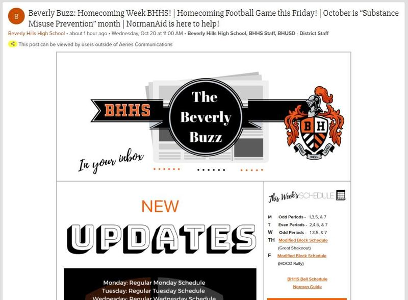BHHS Newsletter - The Beverly Buzz - October 20, 2021
