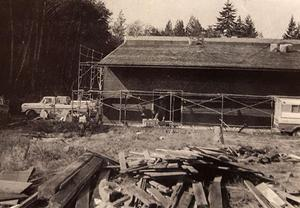 Building a new Cafetorium 1975