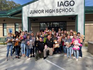Iago stuffed animal drive