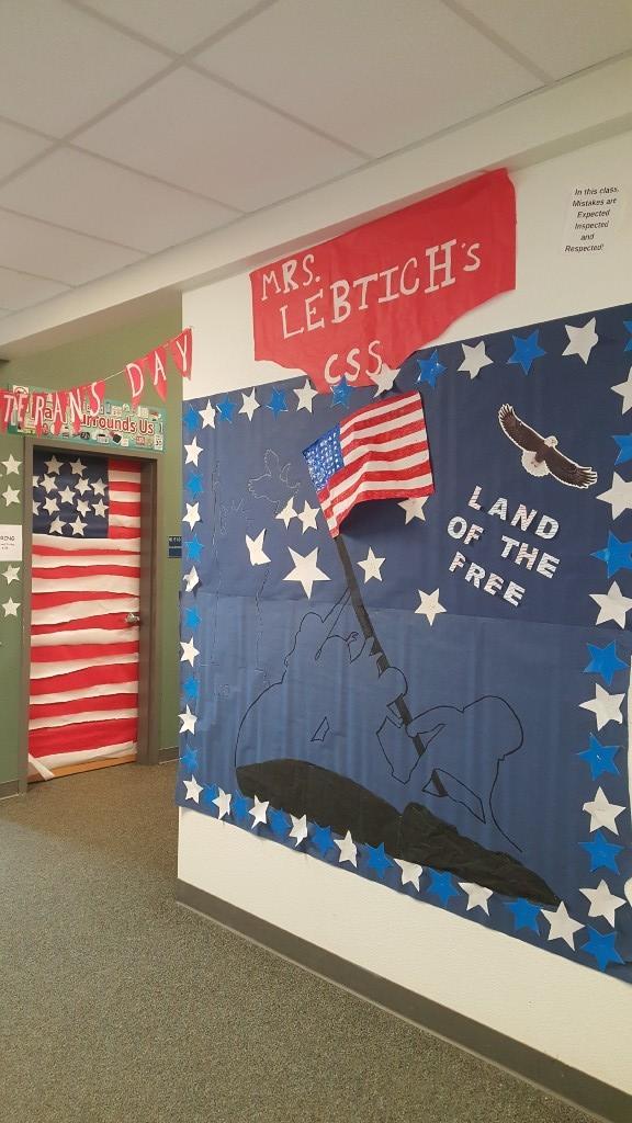 Veteran's Day Hallway