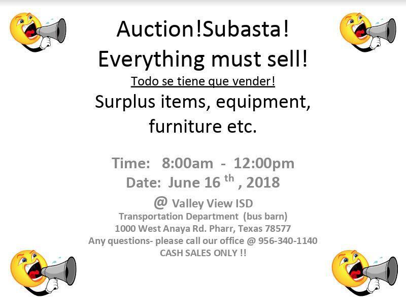 Auction!Subasta! Everything must sell! Thumbnail Image