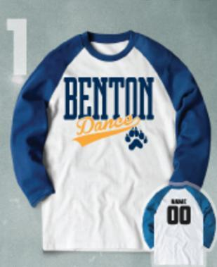 Support Benton Dance by purchasing Benton Spirit Wear Featured Photo