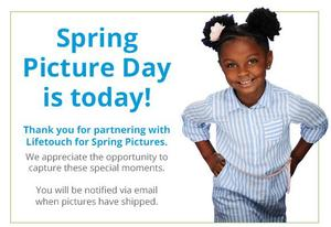 Spring picture day photo