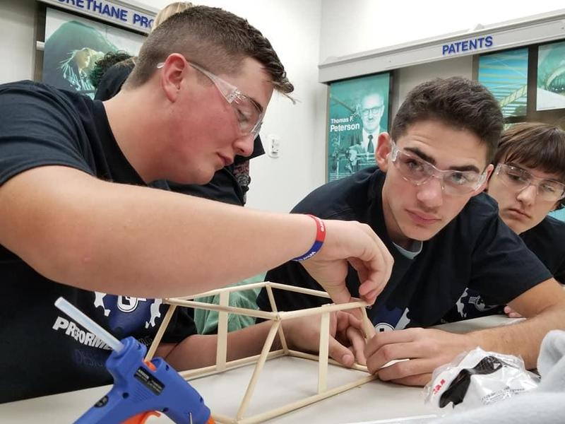 NSHS SkillsUSA students sweep PLP design challenge! Featured Photo
