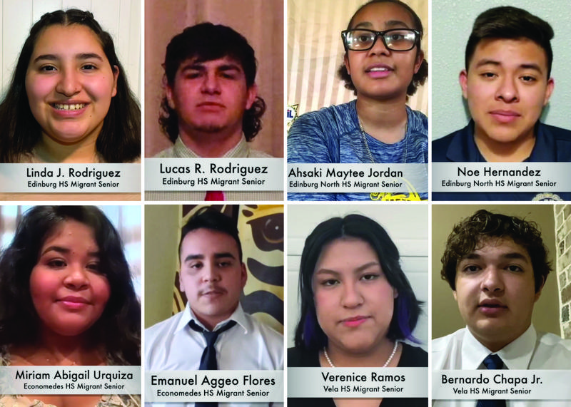 Edinburg Rotary Club honors the top students from Edinburg CISD's Migrant Education Program.