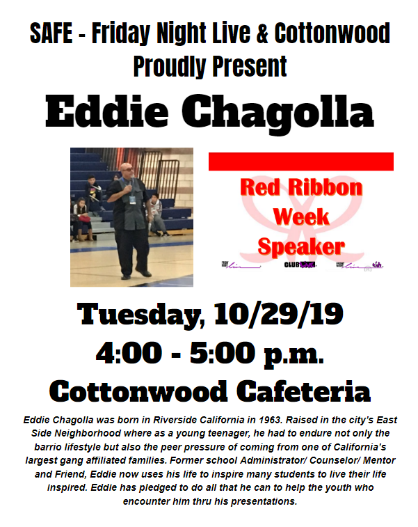 Red Ribbon Week Motivational Speaker