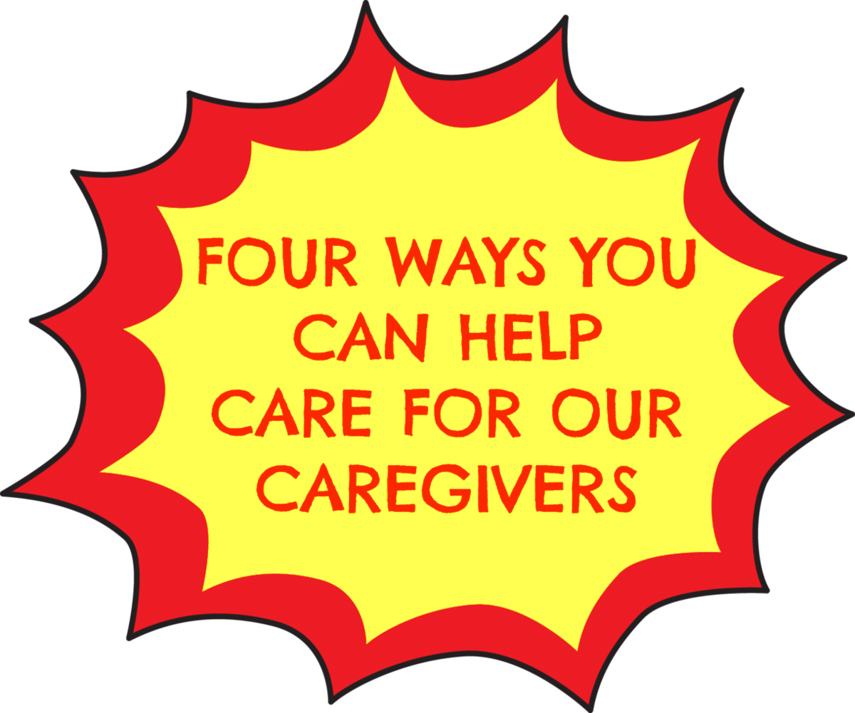 Four ways you can help