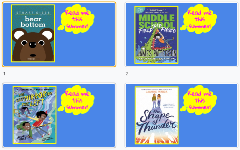 a sample of four hot summer reads books