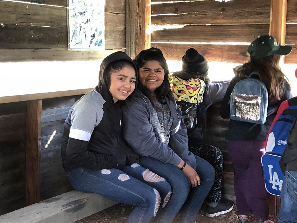 6th Grade Students at Science Camp