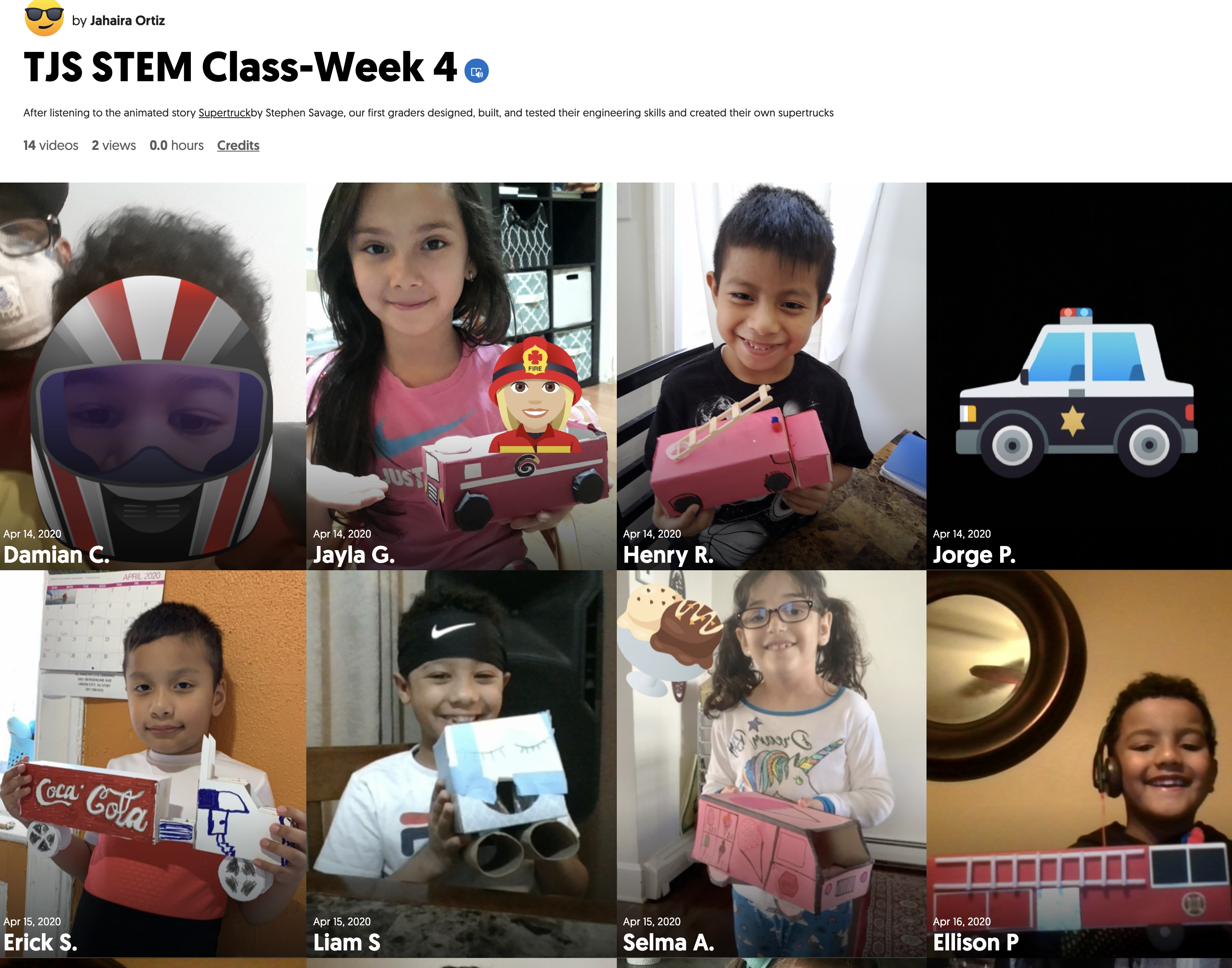 STEM Week 4 Mixed Tape & Link