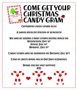 Candy Gram Flyer