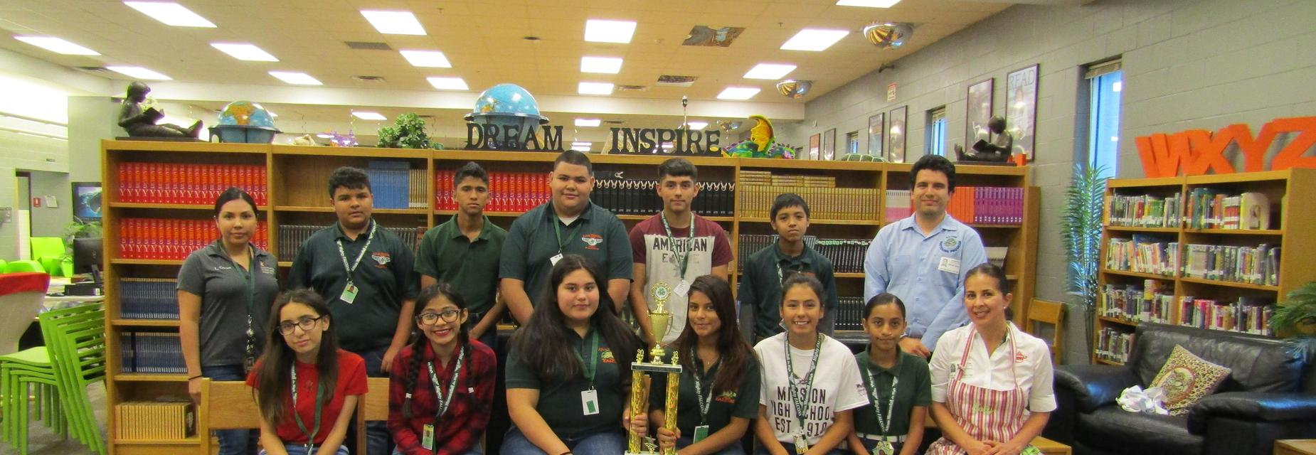 AMJH students are the recycling champs for the City of Alton