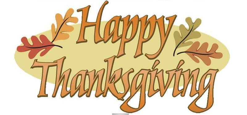 THANKSGIVING BREAK - NOVEMBER 19-23 Featured Photo