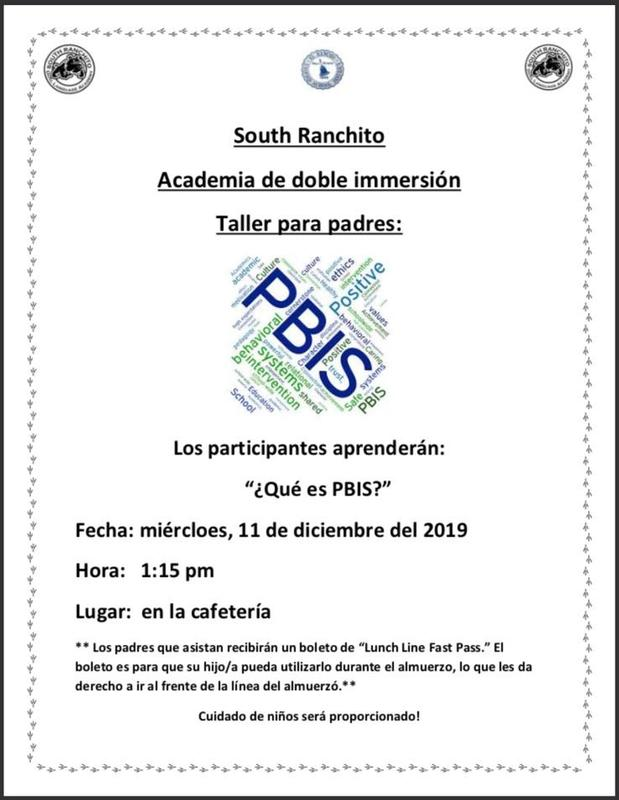 PBIS Spanish